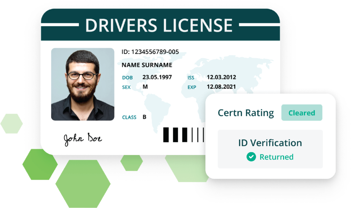 Certn Background Check Drivers License