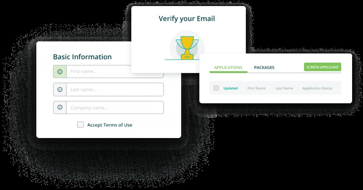 Certnlime sign-up processes