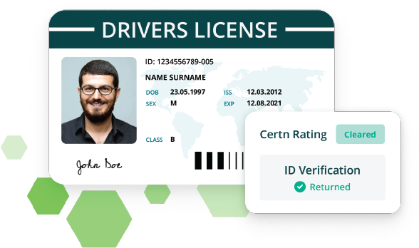 Sample Certn ID verification Returned